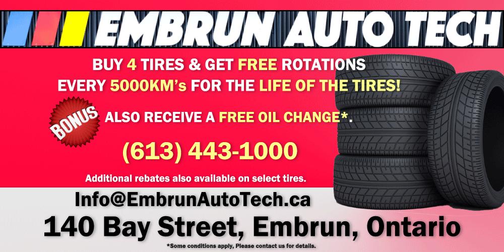 huge spring tire sale